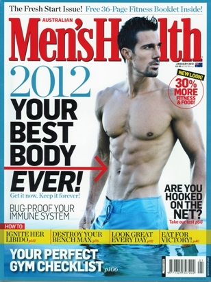 Mens Health - Your New Age Remedy - Jan 12